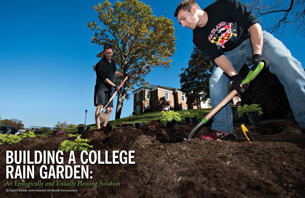 Building a Campus Rain Gardens: An Ecologically and Visually Pleasing Solution