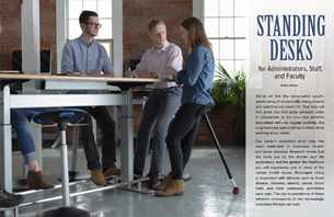 Standing Desks for Administrators, Staff, and Faculty