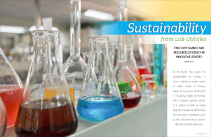 Lab Utilities Sustainability: Cost Savings and Resource Efficiency