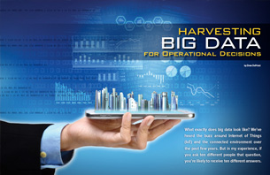 Harvesting Big Data for Operational Decisions