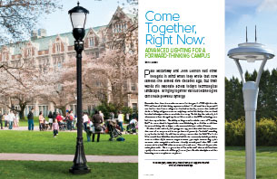 Come Together, Right Now: Advanced Lighting for a Forward-Thinking Campus