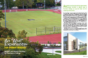 """An """"Aha!"""" Experience for Student-Athletes at Providence College"""