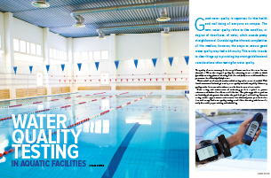 Water Quality Testing in Aquatic Facilities