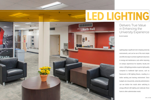 LED Lighting Delivers Value in Enhancing University Experience