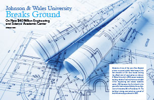 Johnson & Wales Breaks Ground on $40 Million Engineering and Science Center