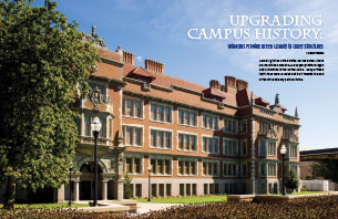 Upgrading Campus History: Windows Provide Green Update to Older Structures