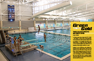 Green Turns to Gold: Ithaca College's Athletics & Events Center