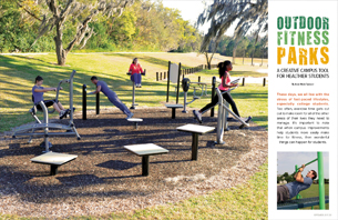 Outdoor Fitness Parks: A Creative Campus Tool for Healthier Students
