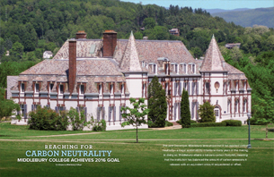 Reaching for Carbon Neutrality at Middlebury College