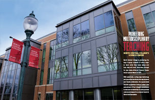 Pioneering Multidisciplinary Teaching: North Central College's Science Center